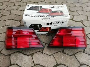 Mercedes W124 260 300D 500E 400E AMG Brabus MHW/FIFFT All-Red Euro Tail Lights