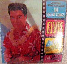 Vge ELVIS PRESLEY BLUE HAWAII LP W/Photo & Gum Chu-Bops Miniature Album Cover