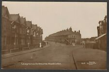 Postcard Luton Bedfordshire the Leagrave and Selborne Road 1917 RP by Nicholls
