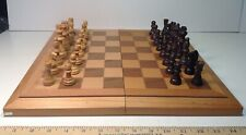 Cardinal Industries Foldaway Chess Set Wooden Board/Storage Case & Wood Pieces