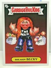 Breakin' BECKY Lynch The Man 2019 Topps WWE x GPK Garbage Pail Kids Sticker #2