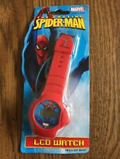 The Amazing Spider-Man LCD Watch 2007 Creative Kids Red