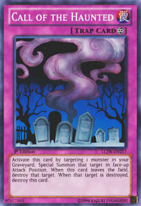 YUGIOH Card Call of the Haunted LCJW-EN217 Super Rare 1st Edition