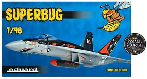 Eduard 11129. Boeing F/A-18 SUPERBUG Limited Edition. Scale 1:48 NEW