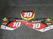Suzuki RMZ250 2007-2009 Ryan Dungey no.10 Factory team issue backgrounds RM1246