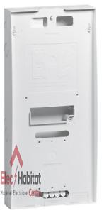 Platine compteur/disjoncteur triphasé épaisseur 92mm Legrand 401184