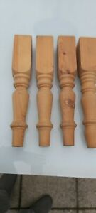 Pine Farmhouse Coffee Table Legs