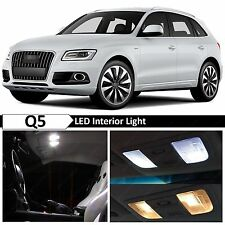 22x White Interior LED Lights Package Kit for 2008-2015 Audi Q5 Error Free