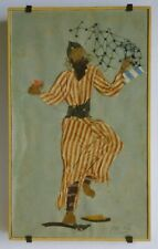 Ella Raayoni Fabric Collage Vienna Austria Yemen Dancer Israel Modern Art Jewish
