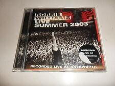 Cd   Robbie Williams  – Live Summer 2003