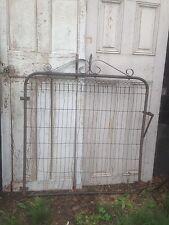 Vintage  WIRE GATE GARDEN YARD ART Cottage Style Fence