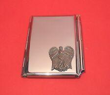 Guardian Angel Chrome Notebook / Card Holder & Pen Angel Christmas Gift