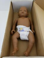 RealCare BTIO Baby G5 Think It Over Doll Light Skinned African American Male