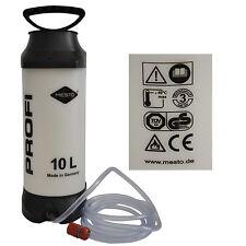 MESTO Wasserdruckbehälter Druckwasserbehälter 10L 3270W Kunststoff