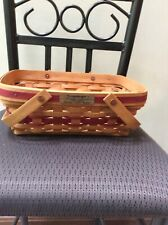 Longaberger 1996 Collector Edition Xmas Basket Vintage Preowned
