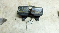 84 Yamaha XT 250 XT250 gauges speedometer tachometer dash meters
