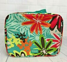 Thirty One Gifts Floral Thermal Insulated Zippered Lunch Box