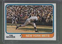 1974 TOPPS #80 TOM SEAVER NEW YORK METS BK$12.00 G