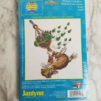 Gary Patterson Cross Stitch Kit Cat Oops 95-105 Opened Missing Needle Never Used