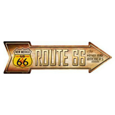 Outdoor/Indoor Route 66 New Mexico Highway Shield Novelty Metal Arrow Sign 5x17