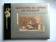 SOUVENIRS DU JAPON EN COULEURS - PHOTOS FIN 19e  - MUSÉE NICEPHORE NIEPCE
