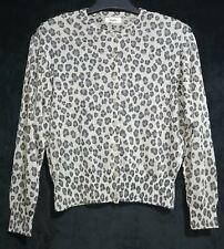 Japan made Grey Leopard Cardigan