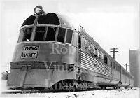 Boston & Maine Central photo Flying Yankee Train Budd Streamliner 8 x 10