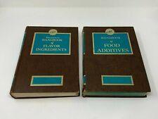 CRC Fenaroli's Handbooks of Flavor Ingredients & Food Additives (1971 & 1968)