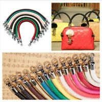 9 Color PU Leather Round DIY Shoulder Bag Purse Handle Replacement Handbag