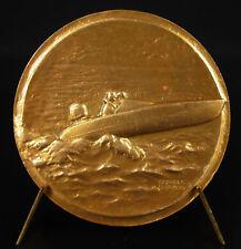 Medaglia Gara fuori bords Barca Boat gara Motonautica c1970 medal