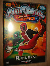 DVD VOL 8 POWER RANGERS S.P.D. SPD RIFLESSI