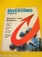 INVESTORS CHRONICLE - WHO ARE THE CURRENCY SPECULATORS -  JUNE 10 1988