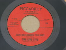 """LIVE FIVE MOVE OVER PICCADILLY orig US GARAGE PSYCH 7"""" 45 NM"""