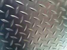 RUBBER CHECKER PLATE VAN / UTE FLOORING 3 MM THICK 1500 MM WIDE X 1 METRE LENGTH