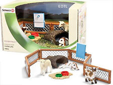 SCHLEICH 41814 Farm Petting Zoo Scenery Pack -Limited Edition Collectors Special