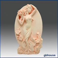 egbhouse,2D Silicone Soap/Plaster/Polymer Clay Mold – Exotic Goddess