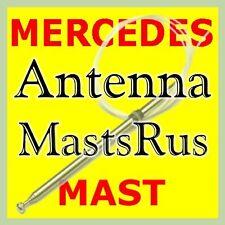 1992-2002 MERCEDES BENZ Power Antenna MAST  BLACK TIP VERSION
