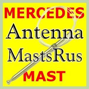 1992-2002 MERCEDES BENZ Power Antenna MAST  BLACK TIP VERSION 1408270001