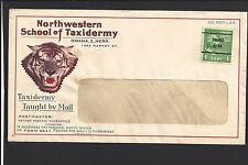 "OMAHA,NEBRASKA COVER, PRE CANCEL.  ""NORTHWESTERN SCHOOL TAXIDERMY."""
