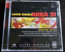 David Chesky: Area 31 Super Audio Hybrid CD - 2001 - Factory Sealed - SACD