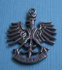 Germany silver charm Vintage Frankfurt eagle