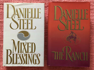 Danielle Steel - Mixed Blessings & The Ranch - Harcover Books