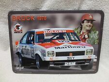PETER BROCK TIN PLATE 1978 BATHURST WINNER LX A9X