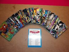Spider-Man Trading Cards (1992 Todd McFarlane Era) Complete Set. 90 Cards.