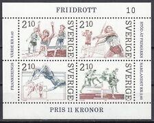Schweden Block 14 postfrisch Leichtathletik