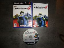 MOTOGP 4 PS2 Playstation PAL español. En buen estado