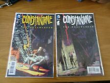 dc comics x 2 constantine the hellblazer  very good