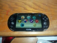 Black Sony Playstation Vita PS System Console PCH-2001 3.36 FW firmware