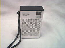 1960S SONY TR-3230 AM TRANSISTOR RADIO PLAYS GREAT MADE IN HONG KONG NICE COND.