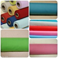 Plain Coloured Polycotton Fabric Metre or Half Metre Lenghths